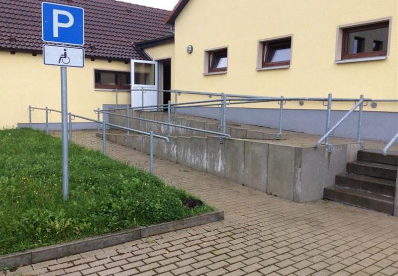 barrierefreier Zugang