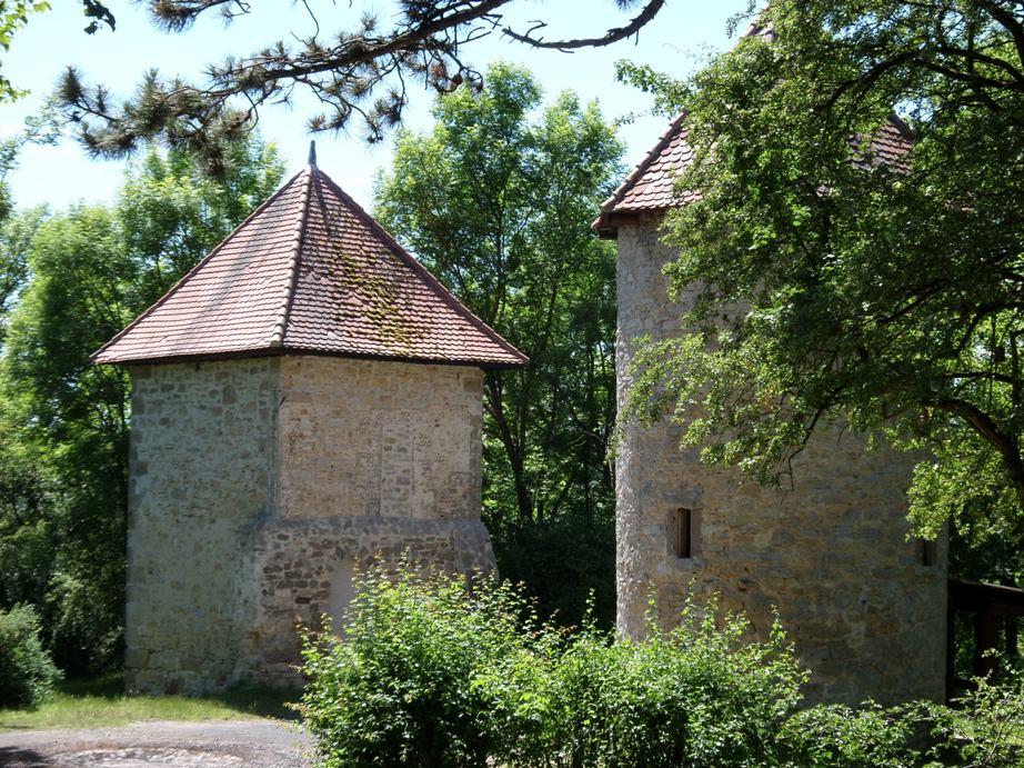 Burgruine auf dem Graner Berg
